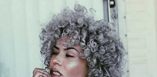 Curly Grey Hairstyles | Hairstyles & Haircuts 2016 - 2017