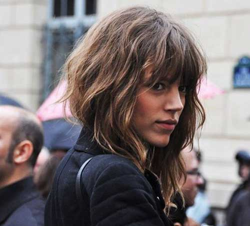 25+ Hairstyles with Bangs 2015-2016