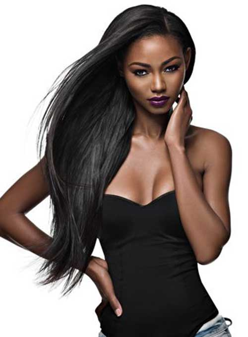 Long Black Girl Hairstyles