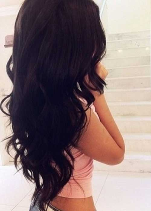 Long Wavy Hair Styles