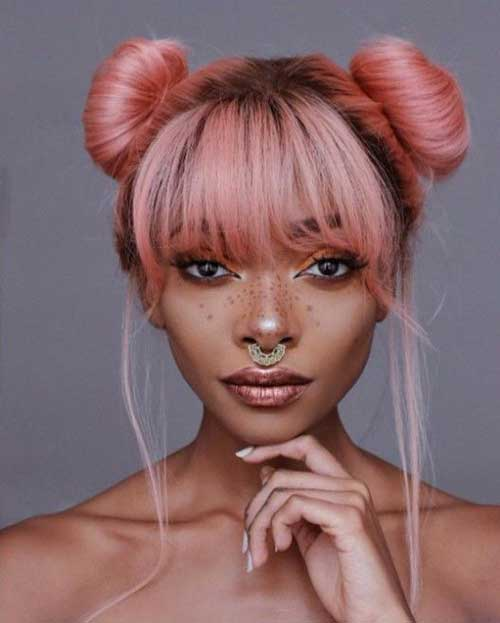 Bun Hairstyles-13