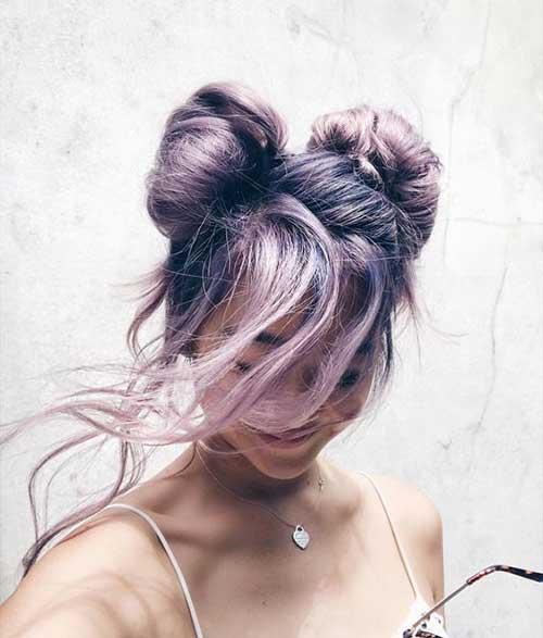 Bun Hairstyles-6
