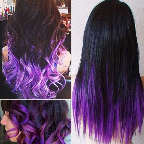Ombre Color Hair Ideas