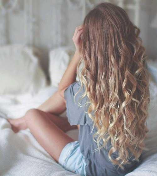 Long Dark Blonde Hair-11