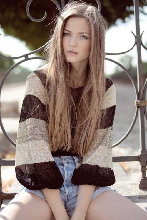 Long Dark Blonde Hair-14