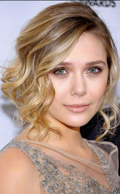 Party Hairstyles for Curly Hair-14