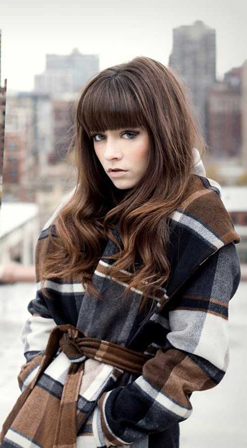 Bangs on Long Hair-15