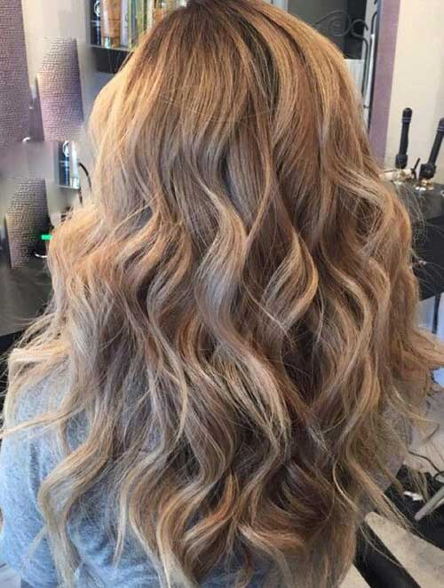 20 Long Dark Blonde Hair Hairstyles And Haircuts