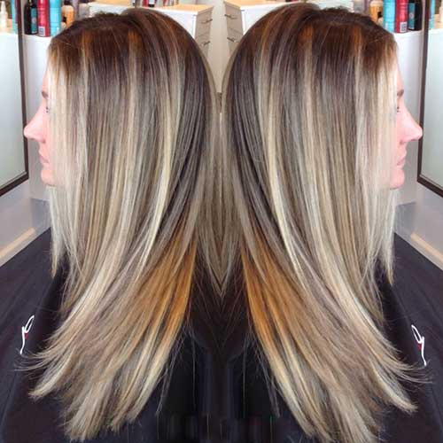 Long Dark Blonde Hair-19