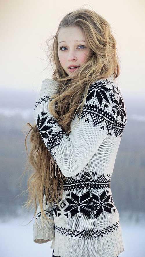 Long Dark Blonde Hair-20
