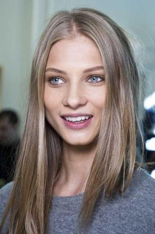 Long Dark Blonde Hair-22