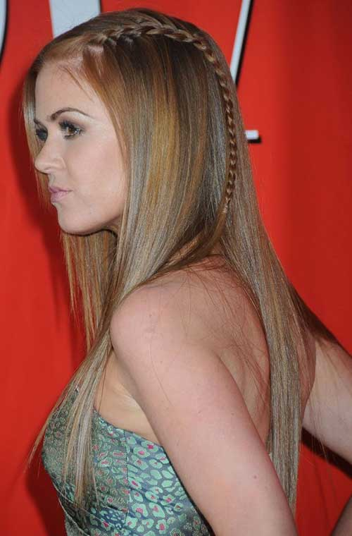 Hairstyles for Straight Hair-9