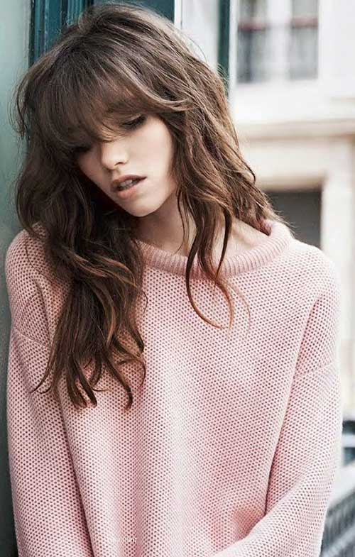 20+ Best Long Bangs Long Hair