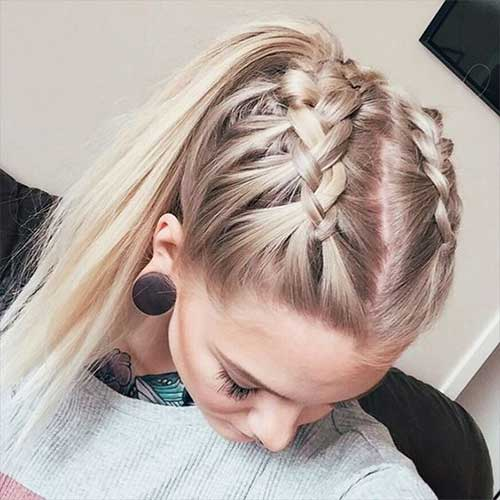 Braided Hairdos for a New Look