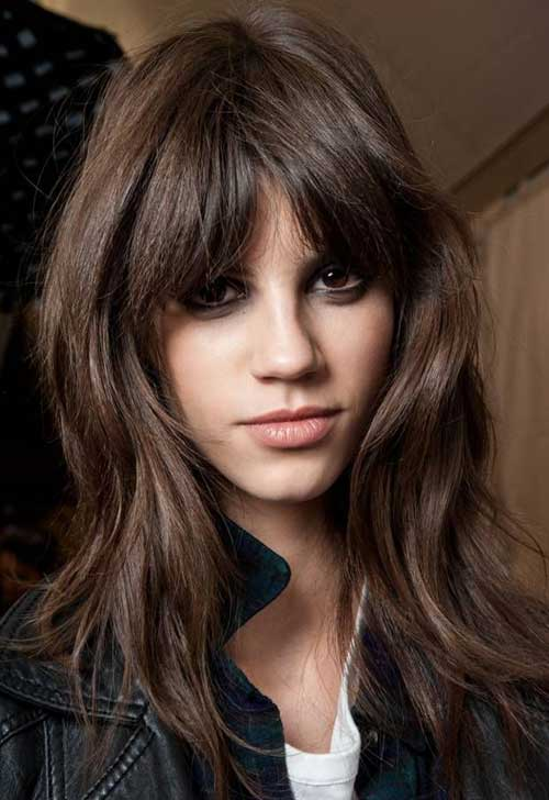 Haircuts For Long Length Hair Oval Face Hair