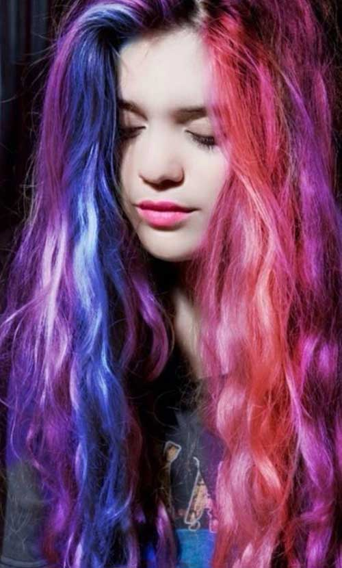 Punk Rock Hairstyles for Long Hair-10