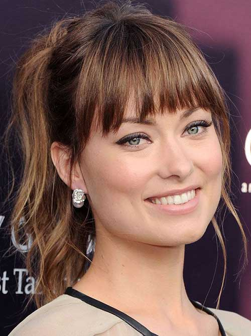 Celebrity Hairstyles with Bangs-11