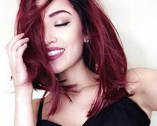 Red Long Hairstyles-11