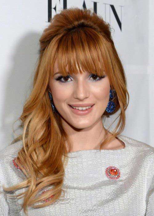 Long Hairstyles with Bangs 2015-12
