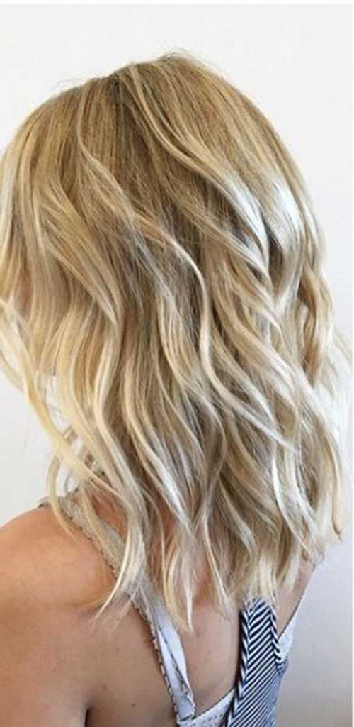 35 New Medium Long Hair Styles Hairstyles And Haircuts