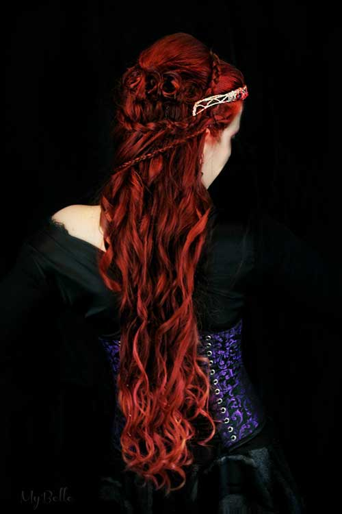 Red Long Hairstyles-14