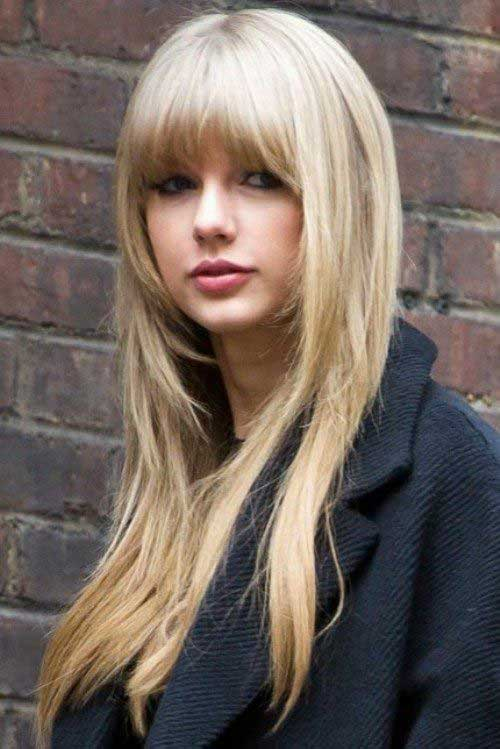 Long Hairstyles with Bangs 2015-15