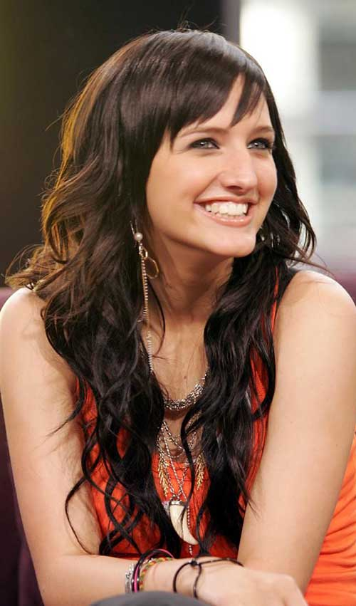 Long Hairstyles with Bangs 2015-16