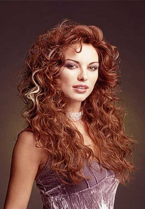 Curly Hair Styles for Women-17