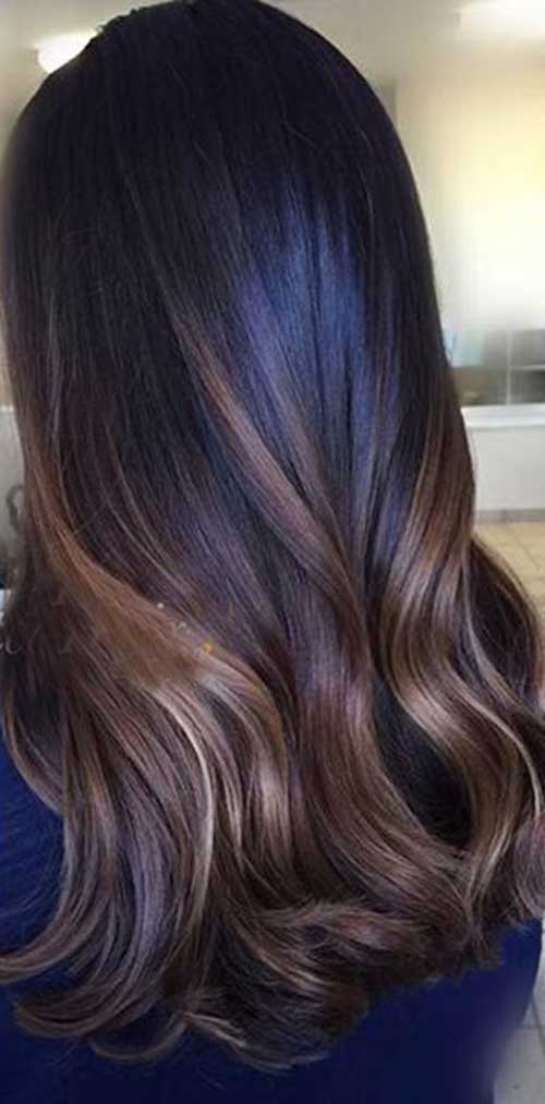 Hair Colour Ideas for Dark Hair-18