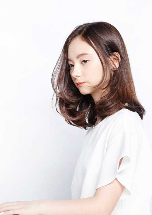 Medium Long Hair Styles-19