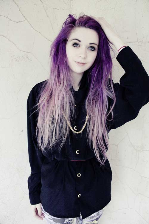 Punk Long Hairstyles-19