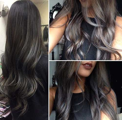 Hair Colour Ideas for Dark Hair-20
