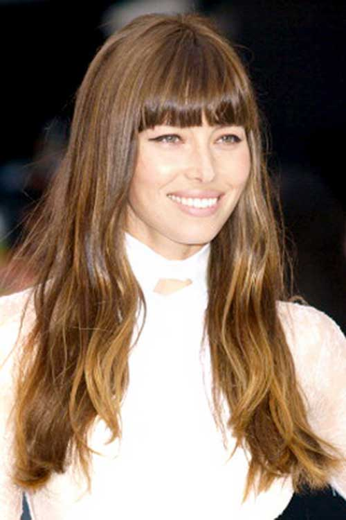 2015 Long Hairstyles with Bangs