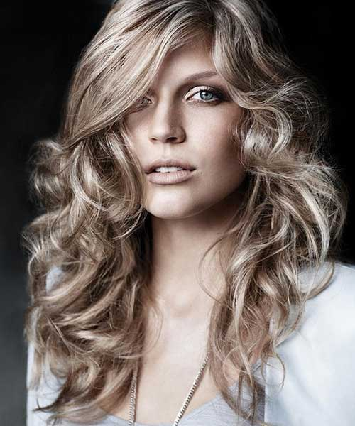 Hairstyles for Wavy Curly Hair-21