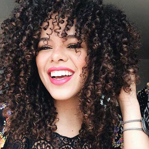 Long Natural Curly Hairstyles-21