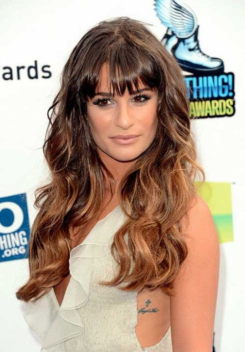 Celebrity Hairstyles with Bangs-22
