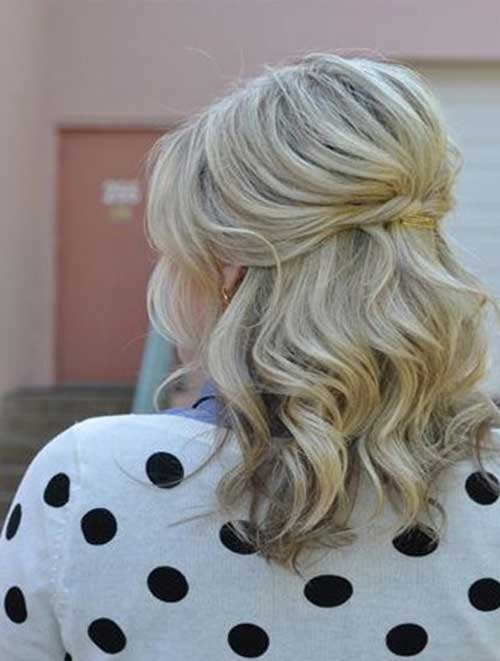 Medium Long Hair Styles-22