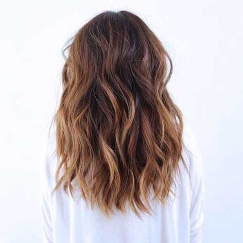 Medium Long Hair Styles-24