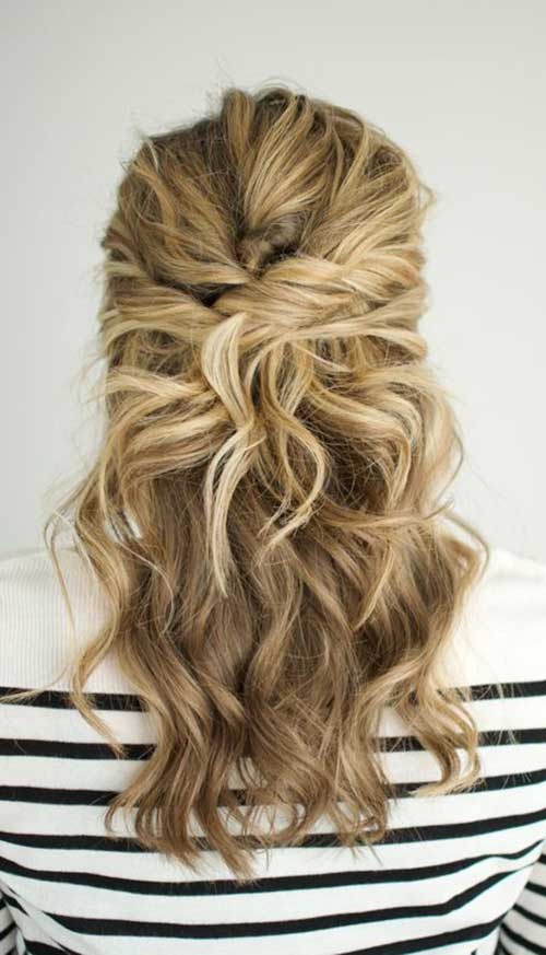Medium Long Hair Styles-25