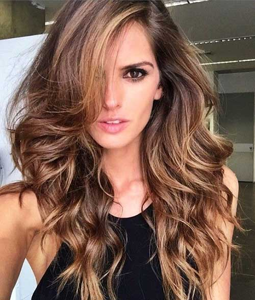 long haircut styles 25 hairstyles for hair hairstyles and 9629 | 26.Lady Hairstyle for Long Hair
