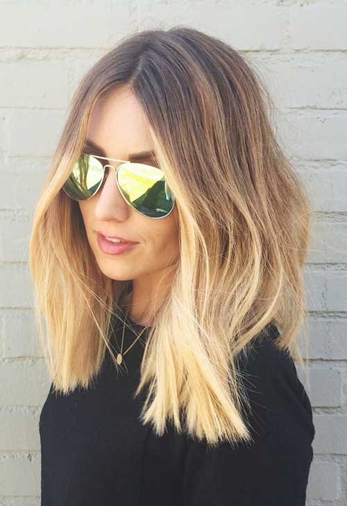 Medium Long Hair Styles-27