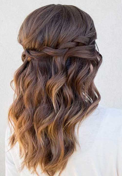 Hairstyles for Wavy Curly Hair-29