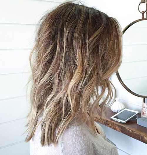 Medium Long Hair Styles-29