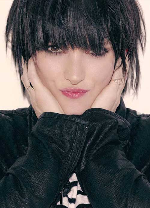 Celebrity Hairstyles with Bangs-6
