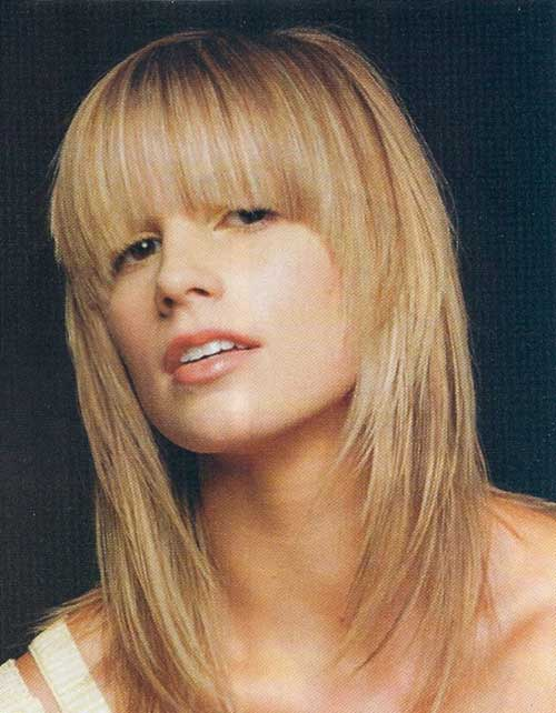 Long Hairstyles with Bangs 2015-6