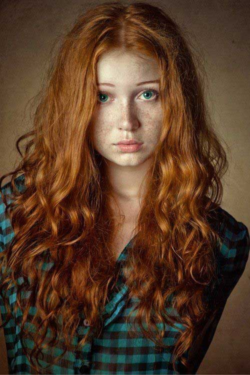 20+ Long Red Curly Hair | Hairstyles and Haircuts | Lovely ...