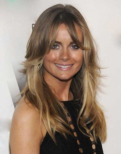 Long Hairstyles with Bangs 2015-7