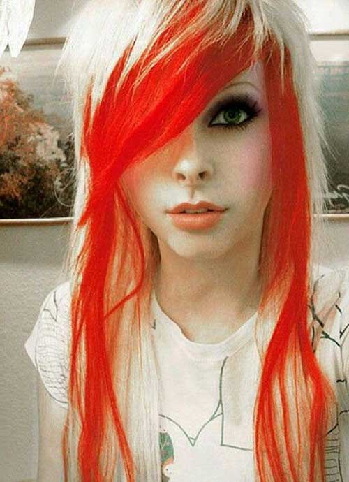 Punk Long Hairstyles-7