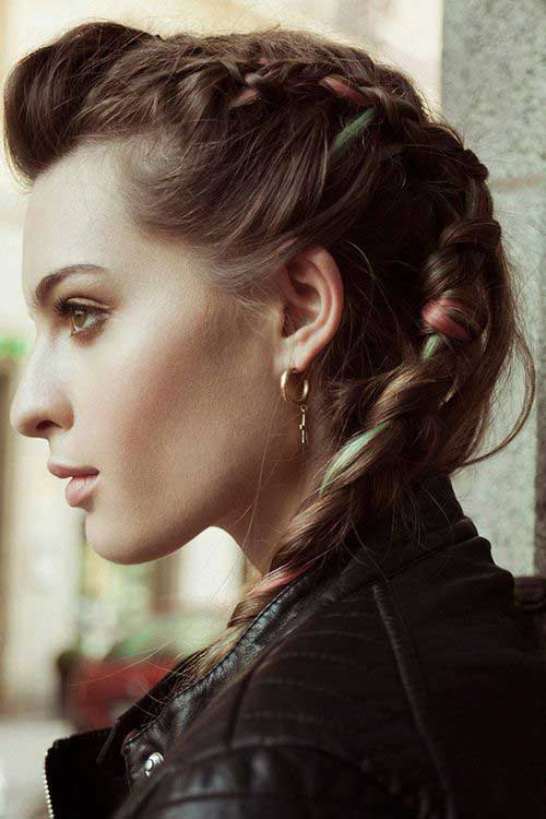 Punk Rock Hairstyles for Long Hair-7