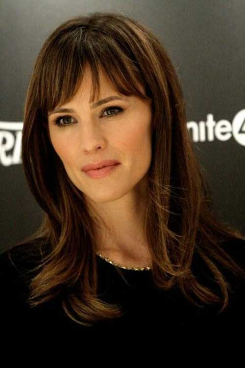 Celebrity Hairstyles with Bangs-9